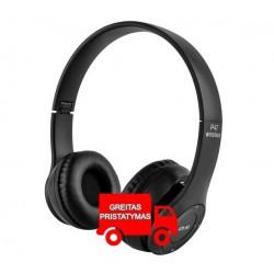 """""""Bluetooth"""" ausines bevielis mikrofonas lengvai susisukti 2 spalvos 5068"""