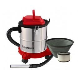 ASH VACUUM CLEANER • ELEKTROS • 20 L • HEPA filtras • 1200 W • 29 x 26 cm • 4,7 kg • 2 m vamzdis • židinio valymas, grilis • 11