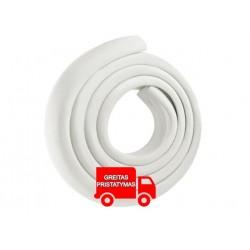Putplasčio apsauga • 3 x 3 x 200 cm • minkšta ir elastinga putplastis • plastikas • apsaugoti viršutiniai, staleliai, spinteles,