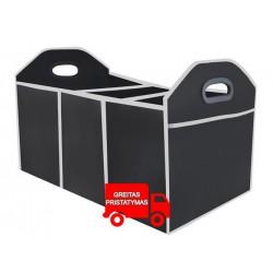 Bagažinės dėžė su skyreliais