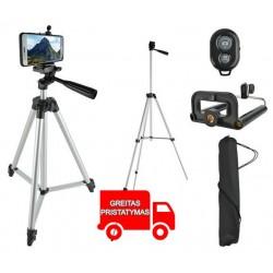 Trikojis Nustatyti Mobilieji telefonai Fotoaparatai Nuotolinis valdymas Nuotolinis valdymas Selfie Bluetooth