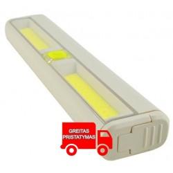LED lempute 24 LED lempučių spintele Spintele Suimdamas magnetinis kabelis Velcro juosta 6085