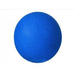 "Masažo rutulys 6cm ""Lacrosseball"" melynas kietas gumas ""Trigger point"" fasonines masažas 5417"