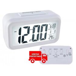 Žadintuvas Skaitmeninis laikrodis Didelis LED ekranas 12 / 24h b 6484