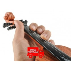 """Žaislu smuikas + """"Bow"""" akumuliatoriaus veikiami muzikos efektai Išsami kopija 6288"""