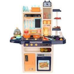 XXL žaidimu virtuves vaiku virtuves reikmenu funkcija maišytuvas šaltas garas 65 elementai 9571