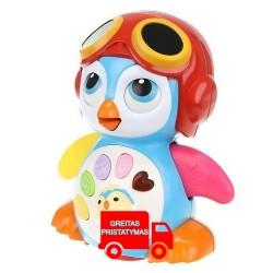 Interaktyvusis pingvinu šokiu edukacinis pingvinas 9500