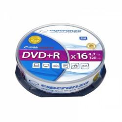 1117 DVD+R 4,7GB X16 - Cake Box 10 sztuk Esperanza
