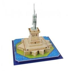 Laisves statula 3D galvosukio modelis