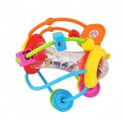 DAUGIAFUNKCINIS RATLAS • daugiau nei 3 menesiai • daug vaiko naudojimo galimybiu • aukštos kokybes medžiagos • saugumas žaisdami