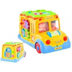 Autobusas su knygu žaisliuku