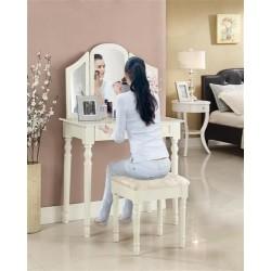 Toaletka z krzesłem i lustrem - DT3765