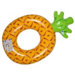 Maudymasis Ananasas • SEASON HIT! • Ananasu formos plaukiojantieji žiedai • BEACH FUN • Pool Party • Garden Party • Summer Fun •