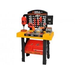 """Irankio mansardas 75cm aukštas darbo stalo rinkinys """"Kids 3in1 Toy Design 6728"""""""