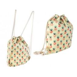 Sporto krepšys su ananasu Arbuzas dizaino drabužiai moterims sporto maišeli Vacation Beach Uni 6787