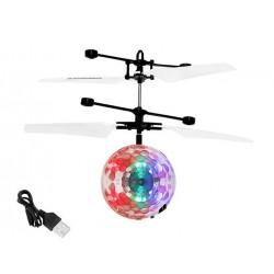 Disco ball Flying ball Sraigtasparnis sraigtasparnis UFO USB akumuliatoriaus valdymas rankomis 6241