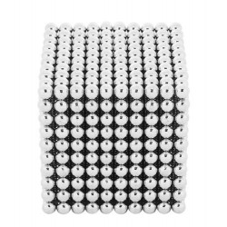 3 mm magnetiniai rutuliai, neodimio blokai, 1000 vnt, dežute 9451