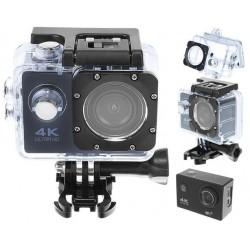 """p """"4K Sports Camera Webcam"""" neperšlampamas """"WiFi"""" SD32GB 9101 /p"""
