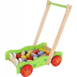 Lauflenhilfe medine vaikštyne su žaisliniais blokais 9445