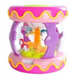 """Bobbin"" interaktyvus muzikos karuseles projektorius ""Pink 9437"""