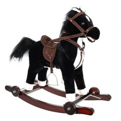 """Arkliukas """"Horse Ride 2in1 Interactive XL"""" juodai baltas 9338"""