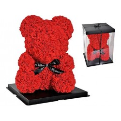 """Rosenbär Art Rose"" žiedlapiu dekoravimo dovanele ""Teddy 10291"""