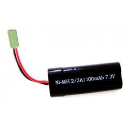 1100mAh 7.2V NiMH Mini Tamiya - VRX H0069