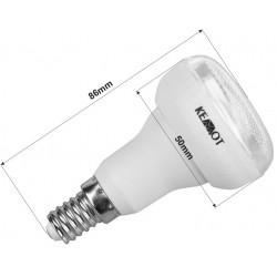 Zar0100 Kompaktinė Fluorescencinė Lempa (Fluorescencinė Lempa) R50 7W E14 2700K