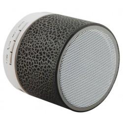 """Speaker Mini"" ""Bluetooth"" 3,5 mm radijas MP3 Micro SD 10 metru 5 val. Balta juoda 4800"