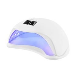 Nagu lempa UV lempa 24 Dvigubi šviesos diodu ekrano laikmatis 48W White 2-Piece Nagu dizainas