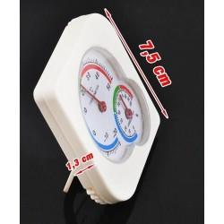 Higrometras + analoginis termometras