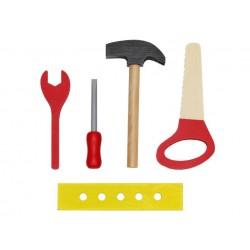 """Workbench Set"" medienos dirbtuve ""Do-it-yourself Screw Vise"" Visi pagaminti iš medienos 6860"