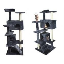 Cat Scratching Tree Tube Pramogos Animal House Scratcher 120cm 1975