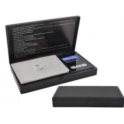 """""""POCKET SCALE"""" SU """"CLAMP"""" • 200G / 0.01G • TARA funkcija • aiškus LCD ekranas • nedideli matmenys • 2635"""