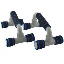PRIEKINES PRIEMONES • PLASTIKO PRIEKABOS • konturo formos • padeda sustiprinti pečiu, šlaunu ir liemens raumenis • 12 x 22,5 x 1
