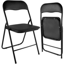 Lauko kėdė Malatec, juoda