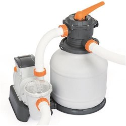 """Bestway Flowclear"" smelio filtru sistema su ChemConnect ir laikmačiu 7.571 l / h 7656"