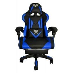 Žaidimų kėdė - juoda ir mėlyna MALATEC