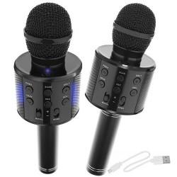 "Belaidis ""Karaoke"" mikrofono ""Bluetooth"" garsiakalbis 4 juodas 8995"