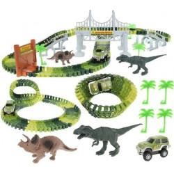 Automobiliu vikšru dinozauru parko dinozaurai 153 el XL 9417