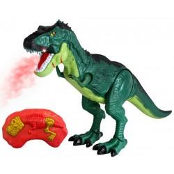 Nuotoliniu budu valdomi dinozauru riaumojimai su poromis