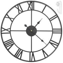 Retro sieninis laikrodis - juodas