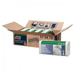 Valymo šluostės TORK Industrial Heavy duty, W4, Premium 42,8 x 35,5 cm, 65 vnt., Balta sp., 570478