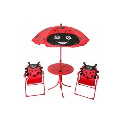 Vaikiškų baldų komplektas su boružėlėmis