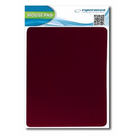 EA145R Esperanza pelės kilimėlis raudona medžiaga