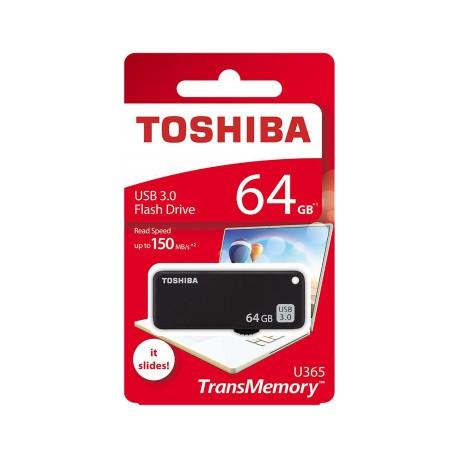 Toshiba USB 3.0 Pendrive 64 GB juoda