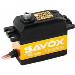 SAVOX bezrdzeniowe serwo cyfrowe - SV-1270TG (26kg/6.0V, 0.14sek/60*)