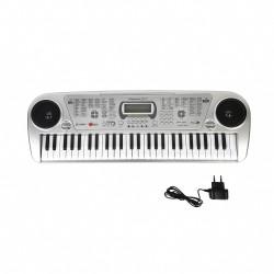 Sintezatorius - pianinas su mikrofonu