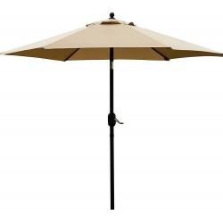 Lauko skėtis, rudas