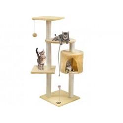 Draskyklė katėms, 110 cm, kreminė